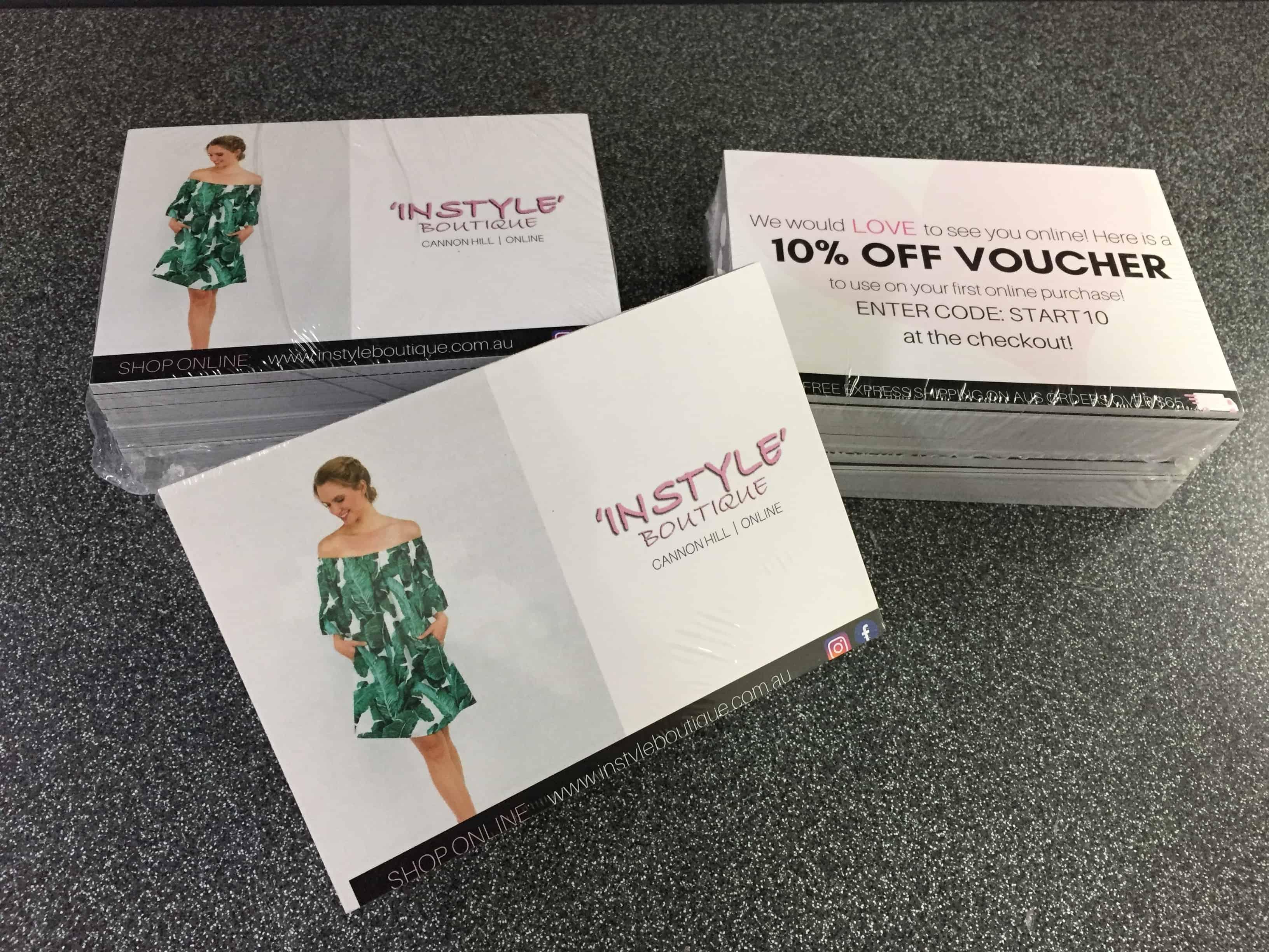 Seven Print - Promotional card printing Brisbane