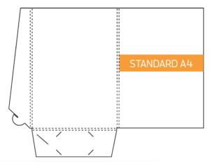 Seven Print - A4 Presentation folder printing Brisbane