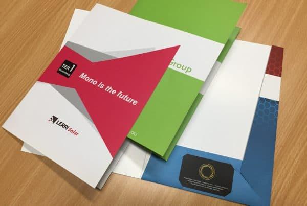 Seven Print - presentation folder printing Brisbane