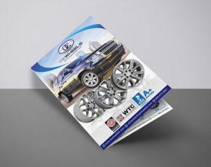A4 brochure single fold