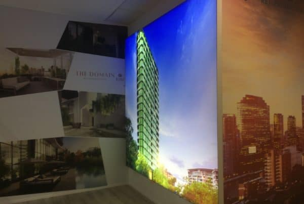 Seven Print - Custom Signage - Illuminated Display Wall