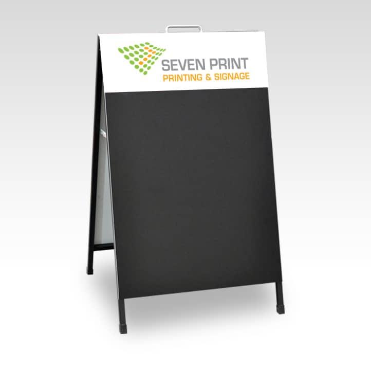 Seven Print - A Frame Chalkboard