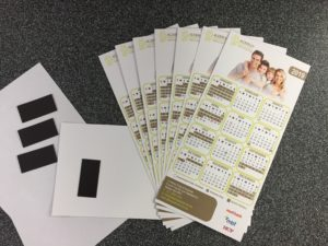 Seven Print - Printing and signage - calendar with magnet